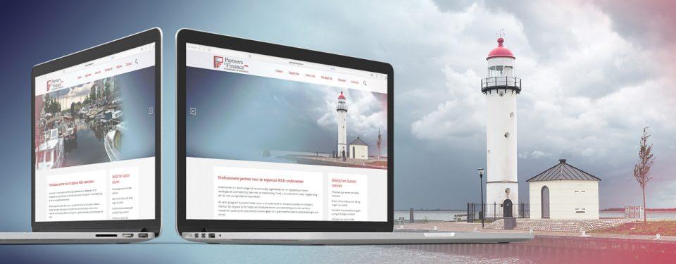 Partners in Finance responsive website