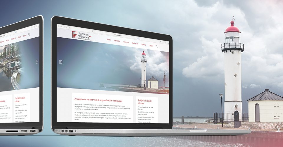 Partners in Finance responsive website