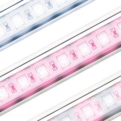 Retro LED lamp productfotografie