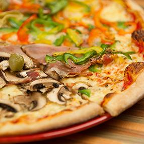 Stars gerechten pizza