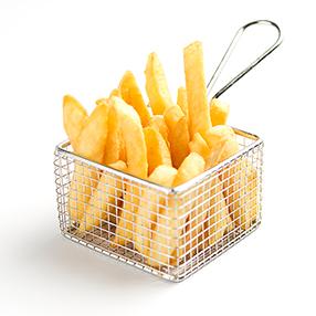 Stars gerechten mandje friet